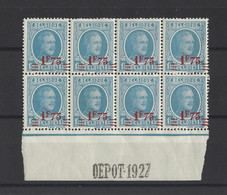 BELGIQUE .  YT  N° 248   Neuf **  1927 - Unused Stamps