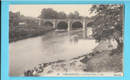 11-----CARCASSONNE--le Pont Vieux--voir 2 Scans - Carcassonne