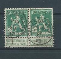 N°110 EN PAIRE OBLITERES CELLES(HAINAUT) - 1912 Pellens