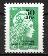 Marianne L'engagée 2020  50 Ans Boulazac Surchargée Gravés Pour L'histoire 3500 Feuilles Seulement - Unused Stamps