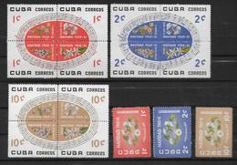 YVERT SERIE N°535/549 ** MNH - FLORE - COTE = 90 EURO - Unused Stamps