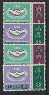 Nouvelles Hébrides - 1965 - N°Yv. 223 à 226 - Série Complète - Neuf * / MH VF - Nuovi
