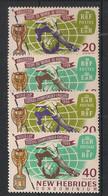 Nouvelles Hébrides - 1966 - N°Yv. 235 à 238 - Série Complète - Neuf Luxe ** / MNH / Postfrisch - Nuovi