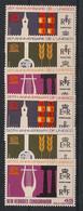 Nouvelles Hébrides - 1966 - N°Yv. 249 à 254 - Série Complète - Neuf * / MH VF - Nuovi