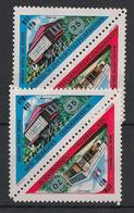 Nouvelles Hébrides - 1974 - N°Yv. 391A Et 393A - Bureau De Poste - Neuf Luxe ** / MNH / Postfrisch - Nuovi