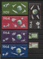 YVERT SERIE N°738/764 ** MNH - COSMOS - COTE = 53.5 EURO - Unused Stamps