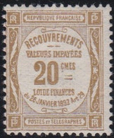 France  >  Y&T  .     Taxe 45  .     *       .    Neuf Avec  Charnière   .   /   .  Mint-hinged - 1859-1955 Mint/hinged