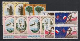 Nouvelles Hébrides - Année Complète 1969 - N°Yv. 280 à 291 - 12v - Neuf * / MH VF - Nuovi