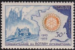 France  >  Y&T  .     1009    .     **     .    Neuf SANS Charnière   .   /   .   MNH - Unused Stamps
