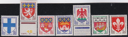 France  .   Y&T  .    7  Timbres     .     **     .    Neuf SANS Charnière   .   /   .   MNH - Unused Stamps