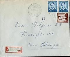 Doc. De MOUSCRON - MOESKROEN - B 3 B - Du 12/10/70  En Rec. ( E ) - Landpost (Ruralpost)