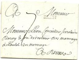 BREST FINISTERE 1772 - 1701-1800: Vorläufer XVIII