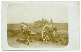 Armée Prussienne. Camp D'artillerie D'Elsenborn . Manoeuvre De Matériels D'artillerie. - Manoeuvres