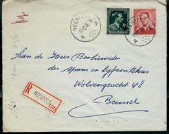 Doc. De NEERPELT  - A A - Du 11/12/56  En Rec. ( E ) - Landpost (Ruralpost)