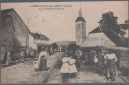 Dompierre Sur Mont , La Poste Et L'école , Animée - Sonstige Gemeinden