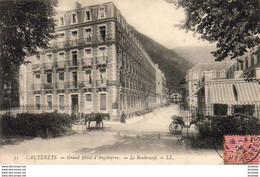 D65  CAUTERETS  Grand Hôtel D' Angleterre- Le Boulevard  ..... - Cauterets