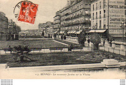 D35  RENNES  Les Nouveaux Jardins Sur La Vilaine  ..... - Rennes