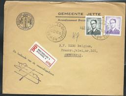Doc. De BRUXELLES - BRUSSEL - H 9 H - Du 13/12/65  En Rec. ( E ) - Landpost (Ruralpost)