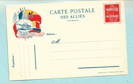 Carte En Franchise Militaire -canon  - Guerre 1914-1918 - WW1 - Tarjetas De Franquicia Militare