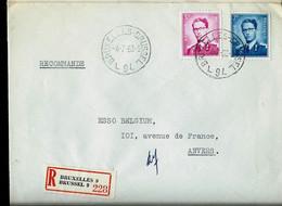Doc. De BRUXELLES - BRUSSEL - L 9 L - Du 04/07/63  En Rec. ( E ) - Landpost (Ruralpost)