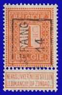 COB N° 108 - Cat. 2318 (Position A)  SERAING 14 - Typos 1912-14 (Lion)