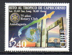 CHILI. N°1625 De 2001. Rotary. - Rotary, Club Leones