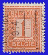 COB N° 108 - Cat. 2312 (Position A)  OSTENDE 1914 - Typos 1912-14 (Lion)