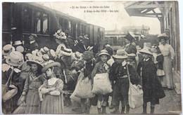""""""" CLÉ DES CHAMPS """" DE CHALON Sur SAÔNE - UNE HALTE - Á ARNAY Le DUC 1910 - Arnay Le Duc"""