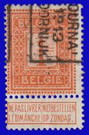 COB N° 108 - Cat. 2185 (Position B) TOURNAI 1913 DOORNIJK - Typos 1912-14 (Lion)