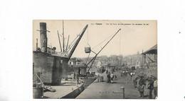 Sur Le Port Embarquement Du Minerai De Fer - Caen