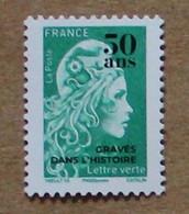 T5 2020 : 50 Ans De L'imprimerie Des Timbres-poste - Marianne L'engagée Surchargée - Ungebraucht