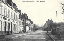 03 ALLIER MONTMARAULT ROUTE DE MOULINS - Sonstige Gemeinden