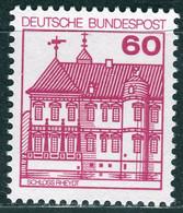 BRD - Mi 1028 A II Ldr - ** Postfrisch (A) - 60Pf Burgen Und Schlösser - Unused Stamps