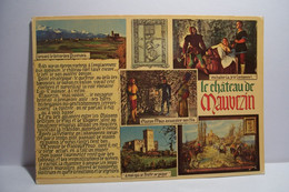 MAUVEZIN    - Souvenir D'une Visite Au Chateau  - Multivues      -  ( Pas De Reflet Sur L'original ) - Altri Comuni