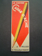 MARQUE PAGE Ancien : CRAYON CARAN D' ACHE - PARIS - Bookmarks