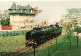 """Train Locomotive à Vapeur """"la Pacific 231 G 558"""" Fécamp - Equipment"""