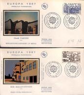 [406303]B/TB//-France  - Architecture Contemporaine, Claude Vasconi, Europa-Cept - 1987