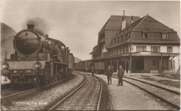 VALLORBE VD 1910 Gare - VD Vaud