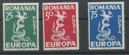 PRO Europa NON éMIS 1958. 3 Val** Coté Dallay En 2004 = 50-euros - Sin Clasificación