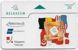 Belgium - RTT (L&G) - P Privates - P-390 - Partnership - 603L - 03.1996, 5U, 950ex, Mint - Without Chip