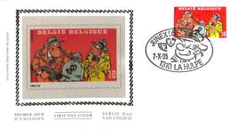 [906494]B/TB//-Belgique 1995 - N° 2619, LA HULPE, Phialité De La Jeunesse, Raou Cauvin, Bandes Dessinées, Arts - Comics