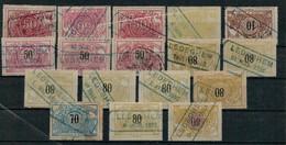 VA-3253   FLANDRE OCCIDENTALE  LEDEGHEM - 1895-1913