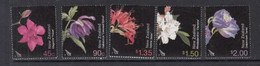 2004 New Zealand Flowers Fleurs  Complete Set Of 5 MNH @ BELOW FACE VALUE - Unused Stamps