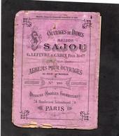 Ouvrages De Dames - Maison SAJOU - Albums Pour Ouvrages Au Point De Marque  N° 205 - Punto Croce