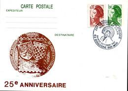 BOULOGNE SUR MER 26e Congrès Philatélique Nord-Pas De Calais 1987 Boulonnaise Folklore Sur Entier Repiqué - Bolli Commemorativi