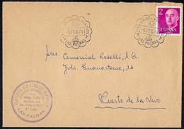1974 Spain Special Cancelation Mail From Las Palmas - Sail - Cartas