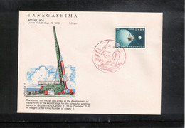 Japan 1972 Space / Raumfahrt UCHINOURA Launch Of The Rocket K - 10 - 8 Interesting Letter - Asia