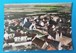 COURDIMANCHE  95  Vue Panoramique Aerienne Autour De L église En 1969 ( Voir Dos ) - Altri Comuni