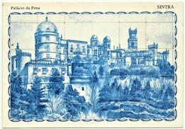 Sintra - Palácio Da Pena - Painel De Azulejos - Fábrica Viúva Lamego - Estação Ferroviária De Vilar Formoso - Lisboa