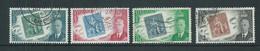 Barbados 1952 Stamp Centenary Set Of 4 FU - Barbados (...-1966)